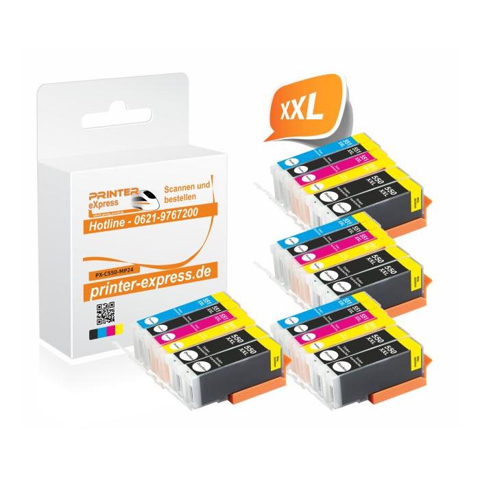 Printer-Express 24er Set Druckerpatronen ersetzten...