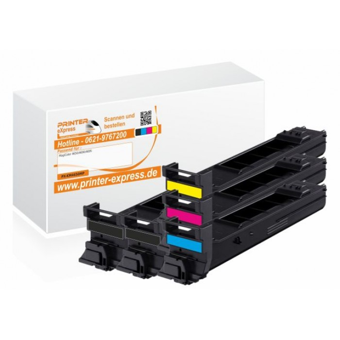 Toner 5er Set alternativ zu Konica Minolta 4650 für...