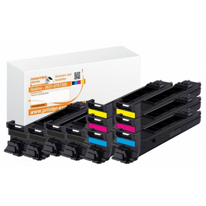 Toner 10er Set alternativ zu Konica Minolta 4650 für...