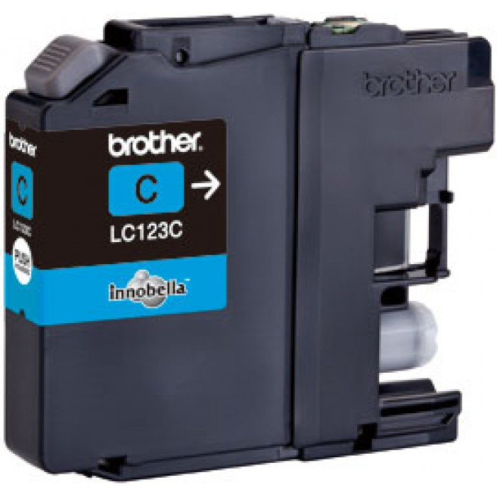 Brother LC-123C Druckerpatrone cyan
