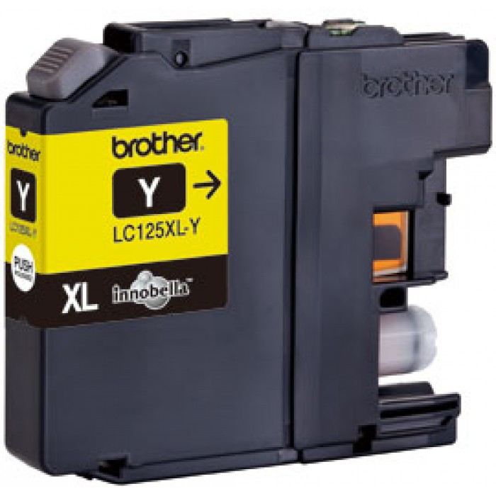 Brother LC-125XLY Druckerpatrone yellow
