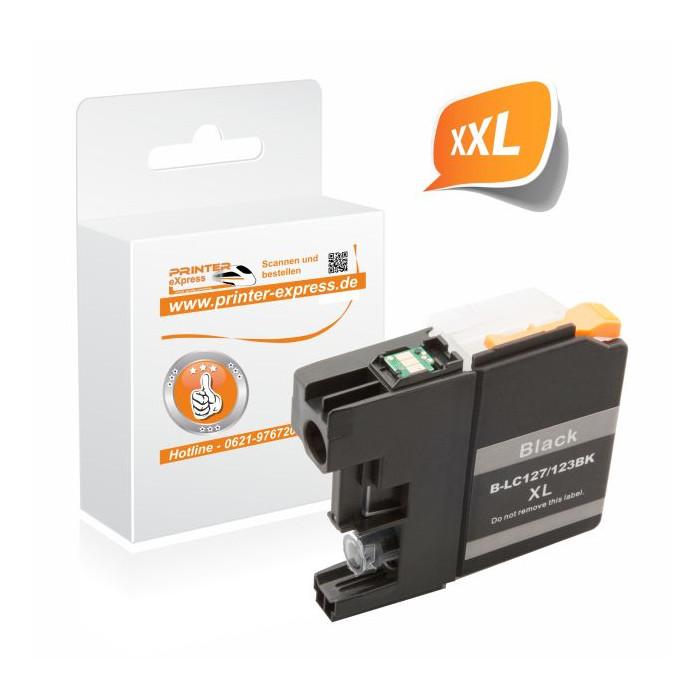 Printer-Express Druckerpatrone ersetzt Brother LC-127XLBK...