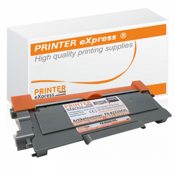 Toner alternativ zu Brother TN-2220 XXL für Brother...