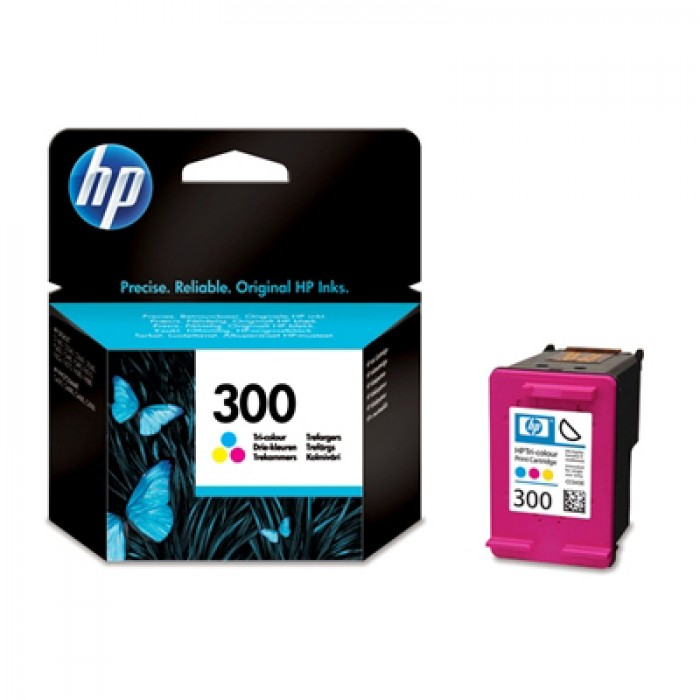 HP 300 Druckerpatrone color CC643EE