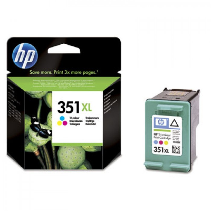 HP 351xl Druckerpatrone color CB338EE