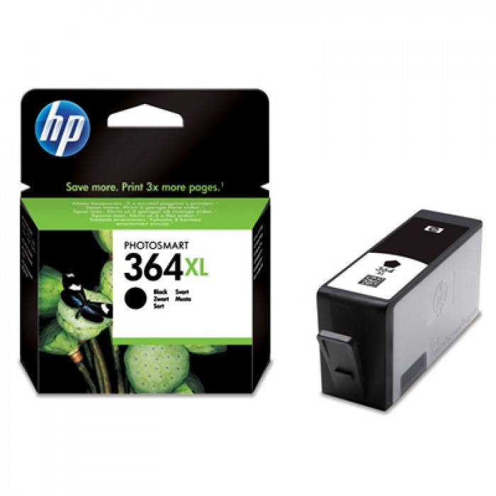 HP 364 BK XL Druckerpatrone black CN684EE