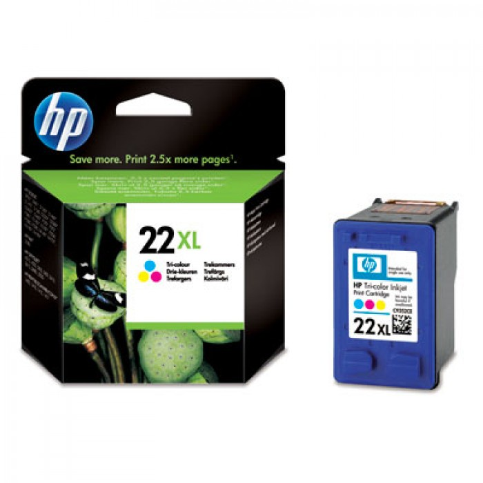 HP 22 XL Druckerpatrone color C9352CE