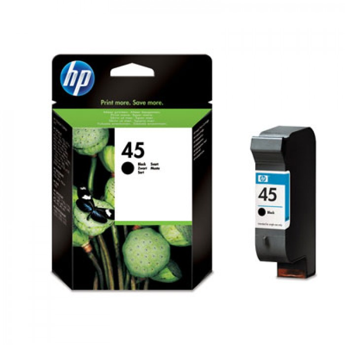 HP 45 Druckerpatrone schwarz 51645AE