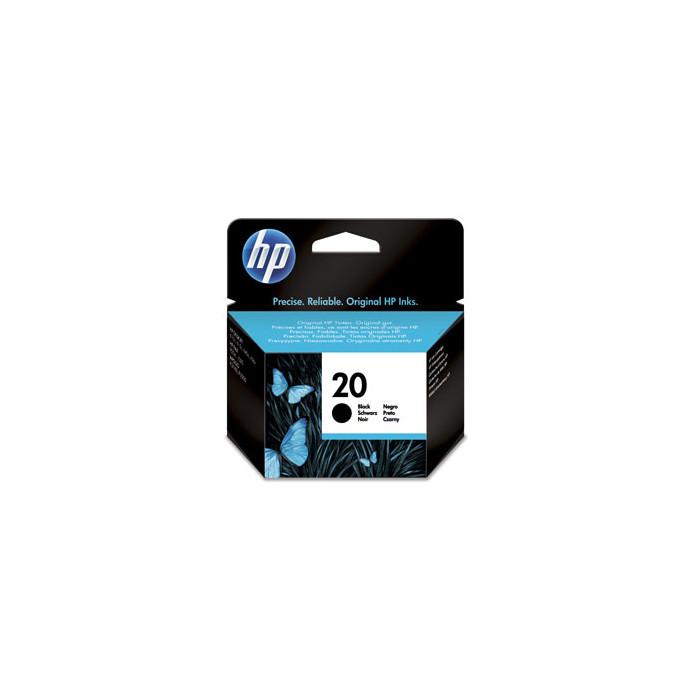HP 20 Druckerpatrone schwarz C6614DE