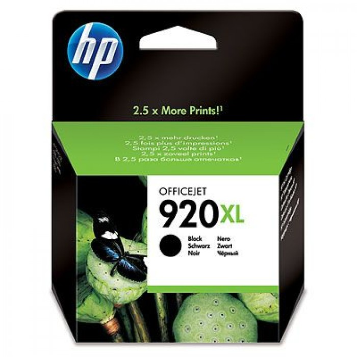 HP 920XL Druckerpatrone black CD975AE