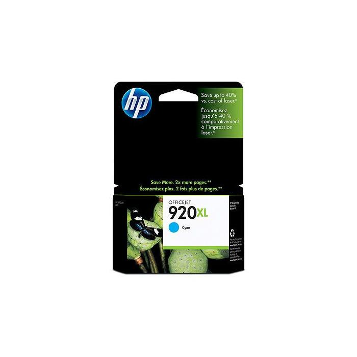 HP 920XL Druckerpatrone cyan CD972AE