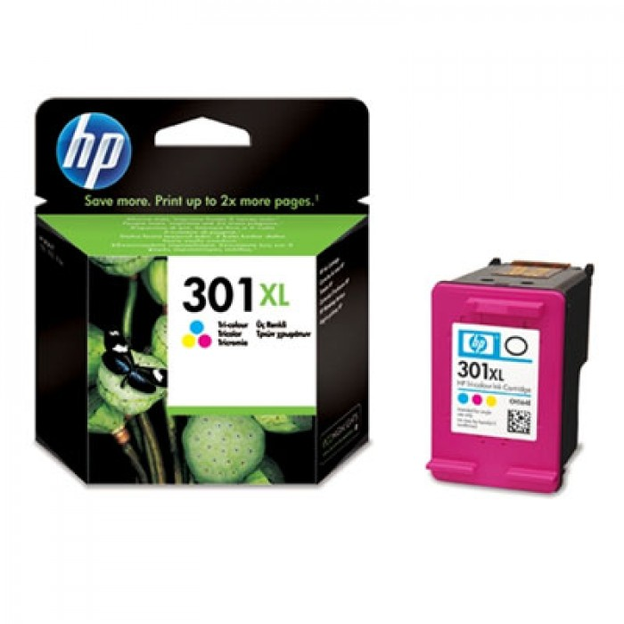HP 301 XL Druckerpatrone color CH564EE