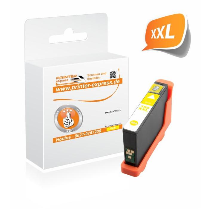 Printer-Express Druckerpatrone ersetzt Lexmark 100XL,...