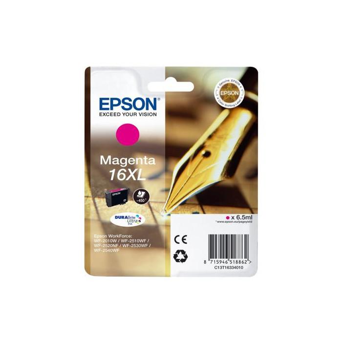 Epson T1633, 16 XL DURABrite Druckerpatrone magenta