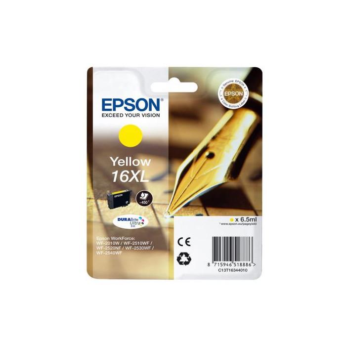 Epson T1634, 16 XL DURABrite Druckerpatrone gelb