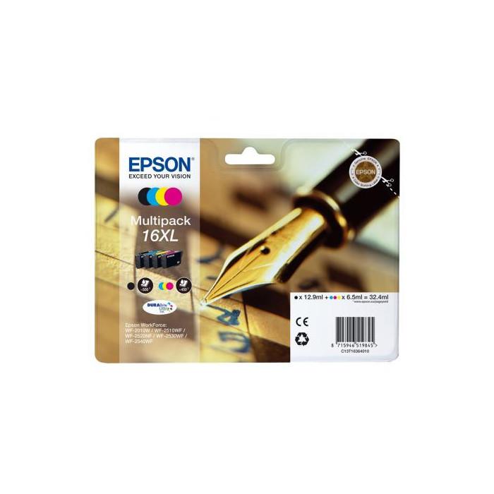 Epson T1636, 16XL 4er Set DURABrite Druckerpatronen