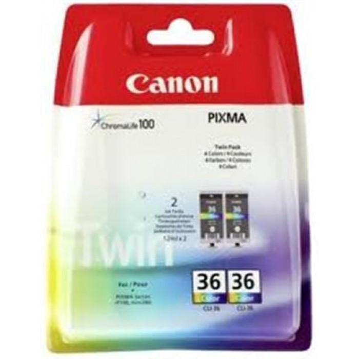 Canon Multipack color 1511B018 CLI-36 2er Pack