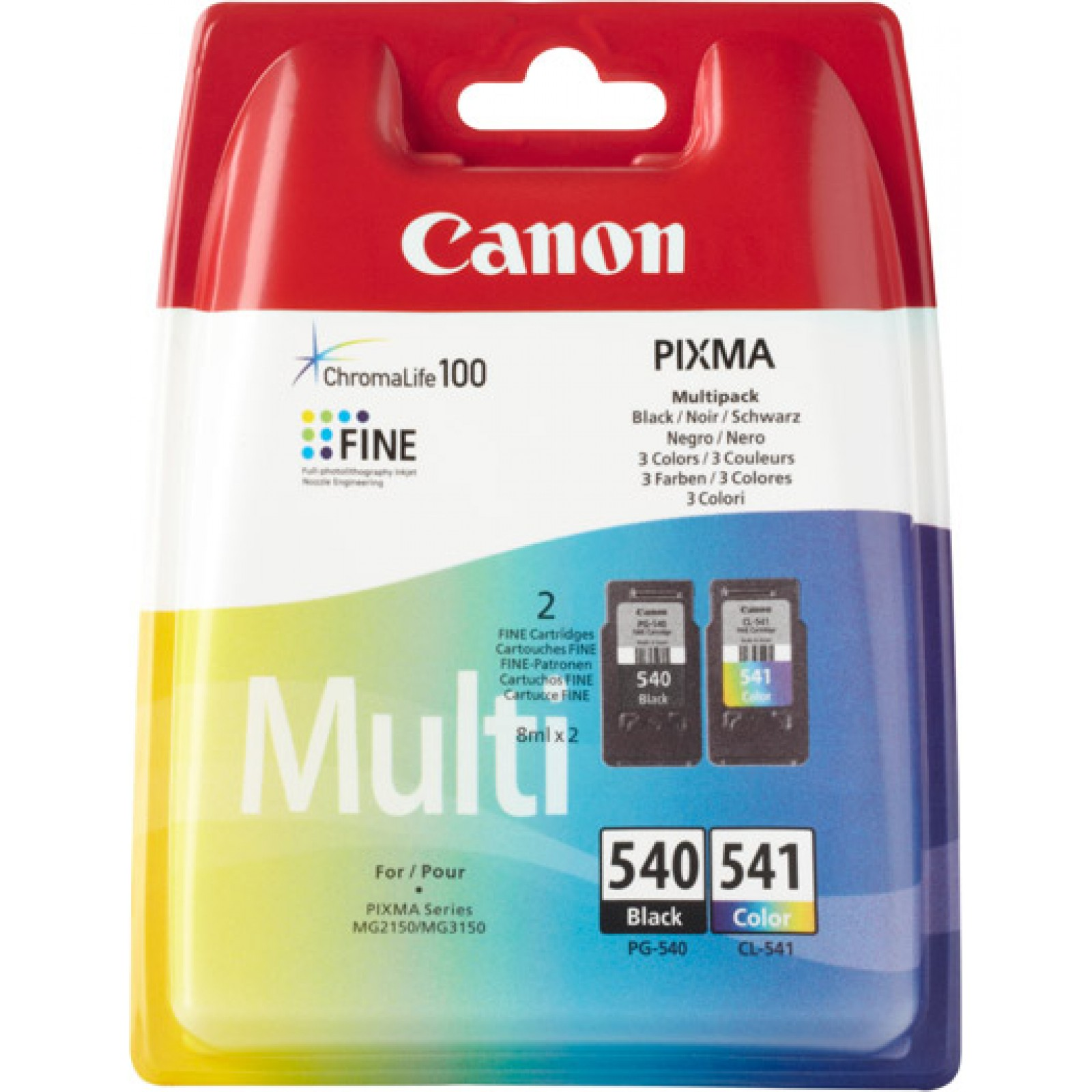 Canon Value Pack color 5225B006 PG-540 + CL-541