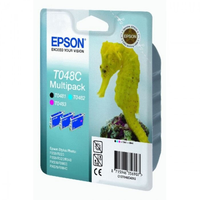 Epson Multipack color C13T048C4010, T048C 3...